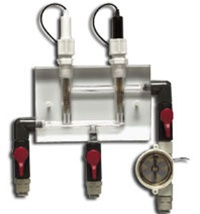 Flow Cell With Rotary Flow Sensor
