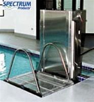 Glacier Wheelchair Pool Lift