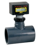 Blue White Flow Meter F-1000 Solvent Weld Tee