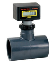 Blue White Flow Meter F 1000 Solvent Weld Tee Commercial