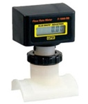 Blue White Flow Meter F-1000