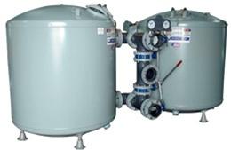Miami Filter SFV Dual Tank - Commercial Pools